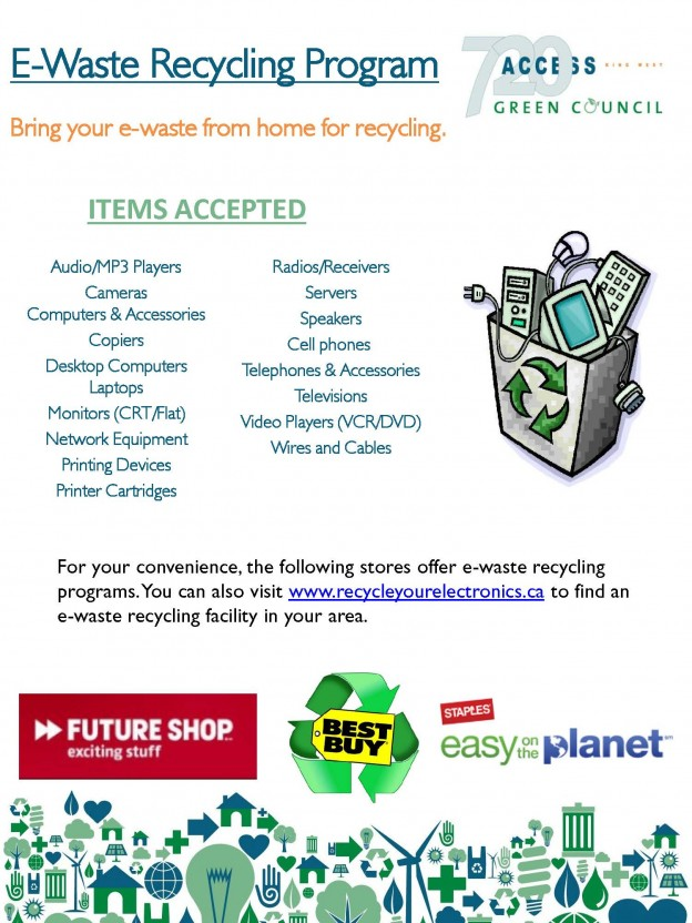 e waste recycling program Compucycle, inc is an epa-accredited, r2 certified responsible e-cycling solutions provider focused on refurbishing equipment for resale, reuse of components and environmentally responsible e-waste recycling.